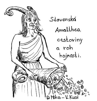 Iveta Radičová ako Amalthea