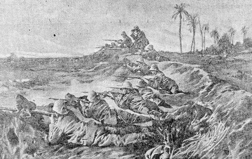 zakopaná armáda