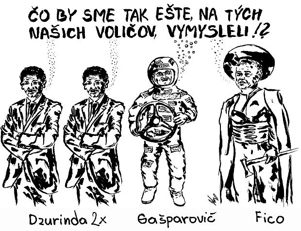 Dzurinda 2x, Gašparovič, Fico